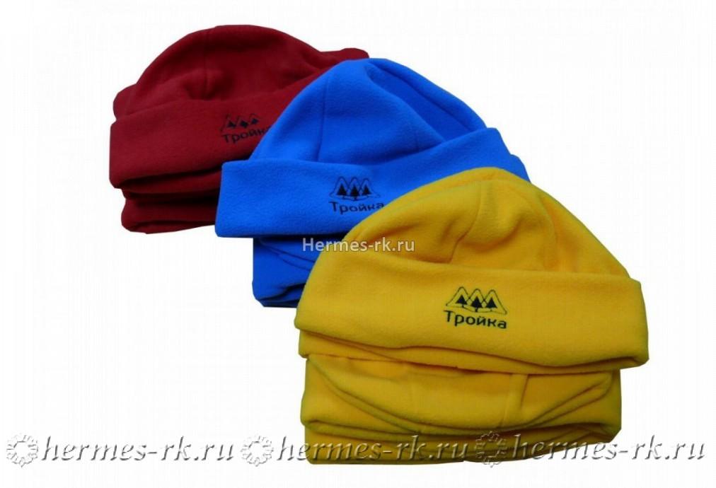 Вышивка на флисовых шапках